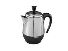 2-4 Cup* Electric Percolator, Stainless Steel | FCP240