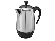 2-8 Cup* Electric Percolator, Stainless Steel | FCP280