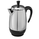 2-8 Cup* Electric Percolator, Stainless Steel
