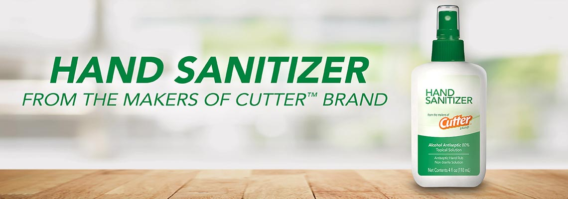 Hand Sanitizer from the makers of Cutter™ Brand
