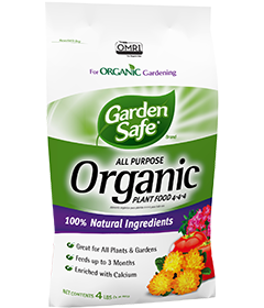 Garden Safe Brand All Purpose Organic Plant Food