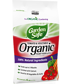 Garden Safe Brand Tomato & Vegetable Organic Plant Food