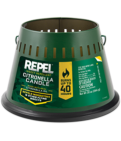 Repel Insect Repellent Citronella Candle (Triple Wick)