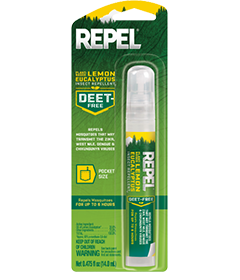 Repel Plant-Based Lemon Eucalyptus Insect Repellent (Pen-Sized Pump Spray)