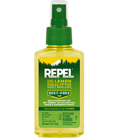 Repel Plant-Based Lemon Eucalyptus Insect Repellent Pump Spray