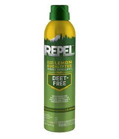 Repel Plant-Based Lemon Eucalyptus Insect Repellent (Aerosol)