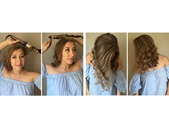 remington 4 fall hairstyles with curling wand and accessories