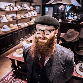 Remington beard boss at hat store
