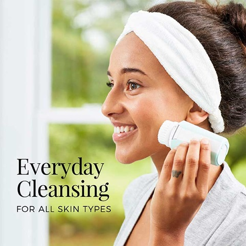 Everyday cleansing for all skin types