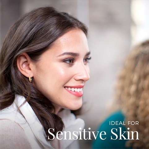 Ideal for sensitive skin