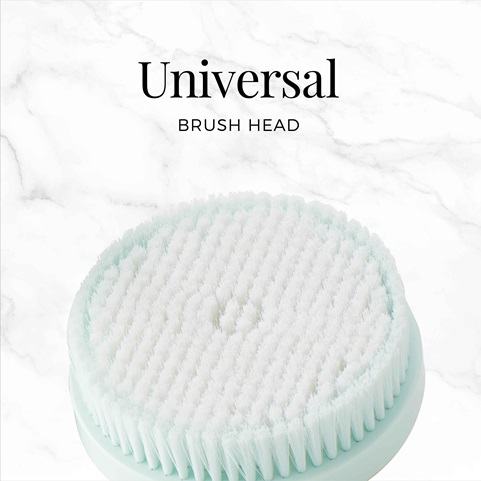remington reveal rotating body cleansing brush with universal brush head bb1000b