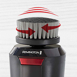 remington reveal mens compact facial cleansing brush with dual power motion fc1500b