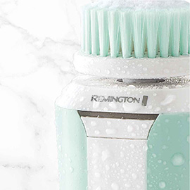 remington reveal compact facial cleansing brush with waterproof design fc500