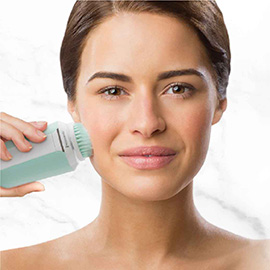 remington reveal compact rechargeable facial cleansing brush fc500