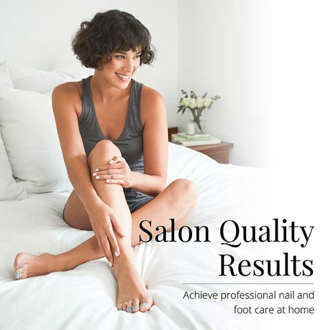 Salon Quality Results - Achieve professional nail and foot care at home