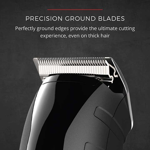 Precision Ground Blades - Perfectly ground edges provide the ultimate cutting experience, even on thick hair