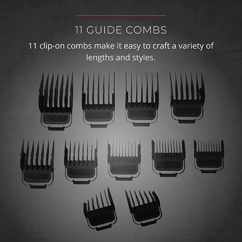 11 guide combs