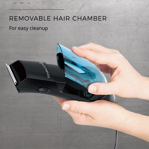 Removable hair chamber