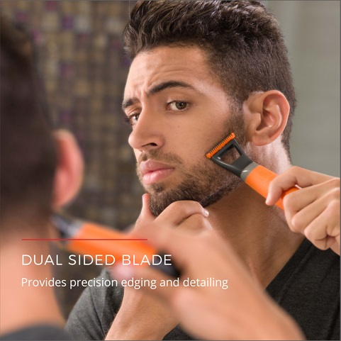 remington durablade lithium trimmer and shaver dual sided blade  mb040