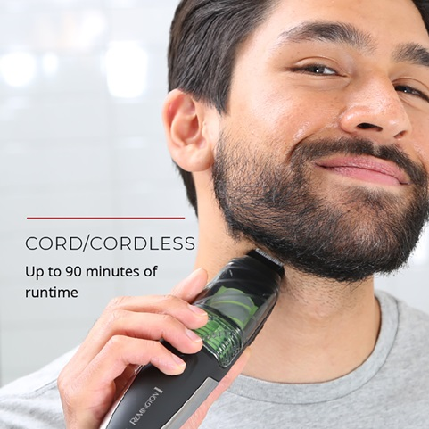 Cord Cordless. Up to 90 minutes of runtime