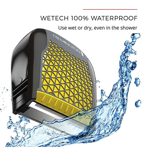 WeTECH 100 percent waterproof - use wet or dry, even in the shower
