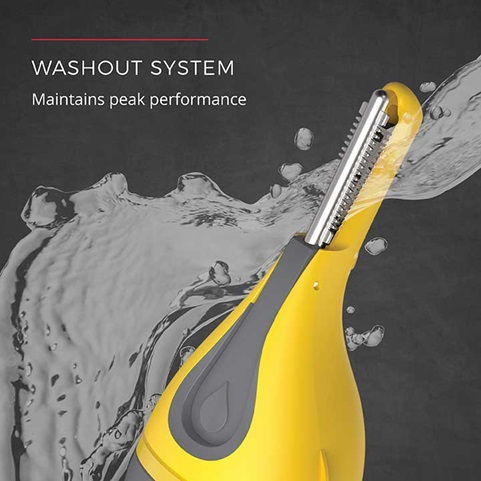 Washout System - Maintains peak performance