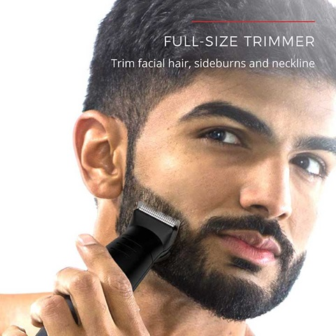 Full Size Trimmer - Trim facial hair, sideburns and neckline