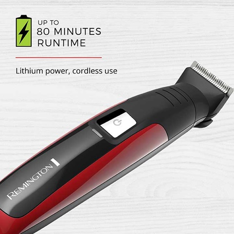 Up to 80 Minutes Runtime - Lithium power, cordless use