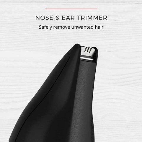 Nose and Ear Trimmer - Safely remove unwanted hair