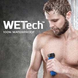 WETech 100 percent waterproof
