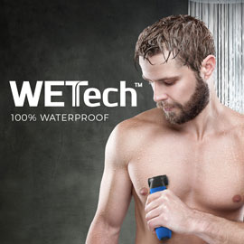 WETech™ 100 percent waterproof