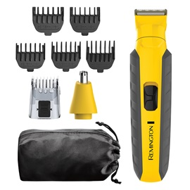 REMINGTON® Virtually Indestructible All-in-One Grooming Kit, Yellow, PG6855