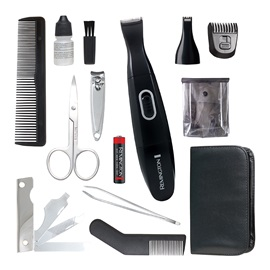 REMINGTON® 15-Piece Travel Grooming Kit TLG100C