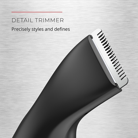 Detail Trimmer. Precisely styles and defines