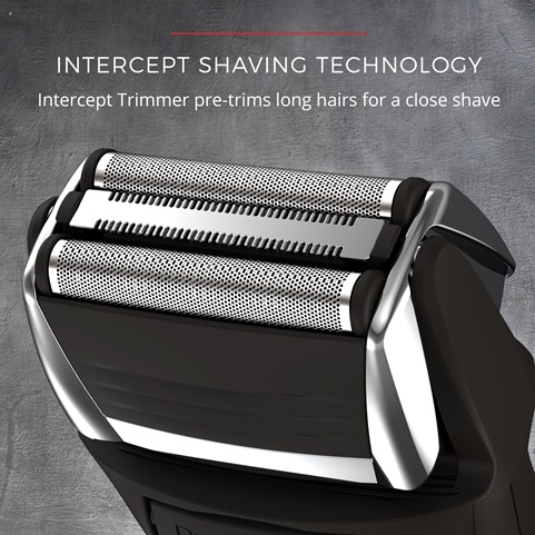 Intercept shaving technology