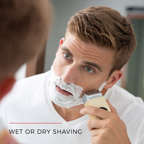 Wet or Dry Shaving
