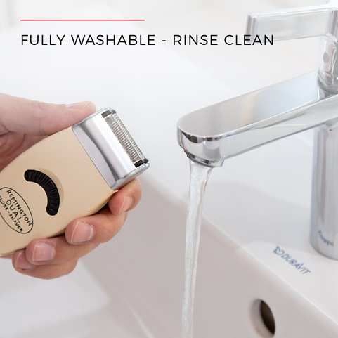 Fully Washable - Rinse Clean