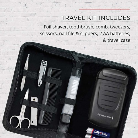 TLF200 The Weekender Travel Foil Shaving Kit