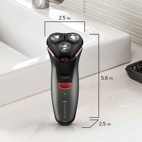 remington Power Series Rotary Shaver R4 scaled dimension pr1340