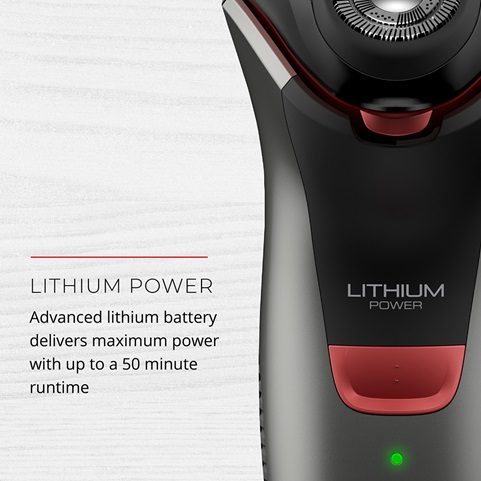 Lithium Power. Advanced lithium battery delivers maximum power with up to a 50 minute runtime