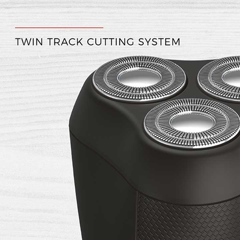 Twin track cutting system