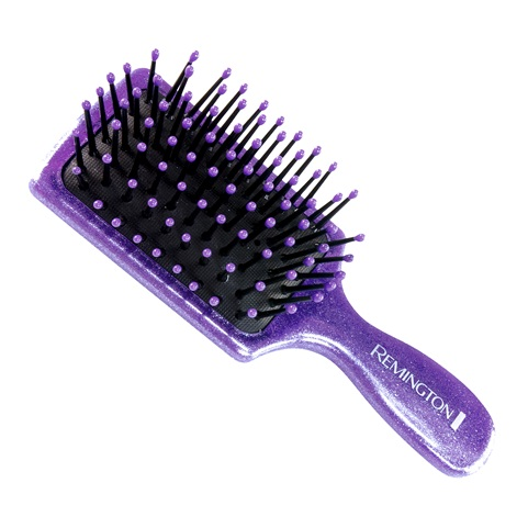 remington d60gm glitter mini cushion brush and mini comb