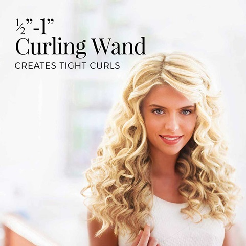 half inch to 1 inch curling wand ci52w1ta