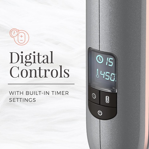 CI8019 Digital Controls with Built-In Timer Settings