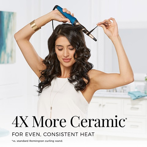 4 times more Ceramic for even, consistent heat