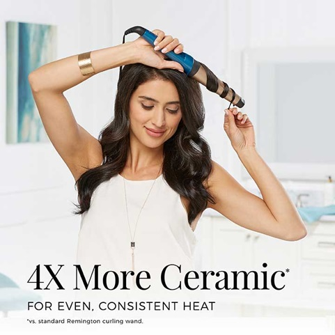 4X More Ceramic for even, consistent heat