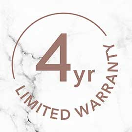 4 Year Limited Warranty | CI96X7B