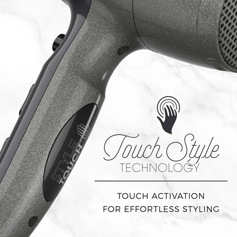 D5700 Touch Style Technology - Touch Activation for Effortless Styling