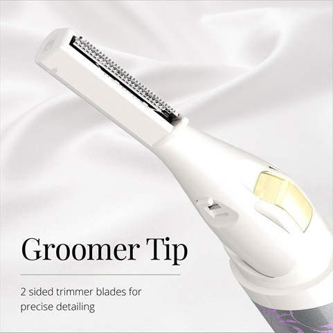 remington smooth and silky facial pen trimmer with groomer tip mpt3800ssf