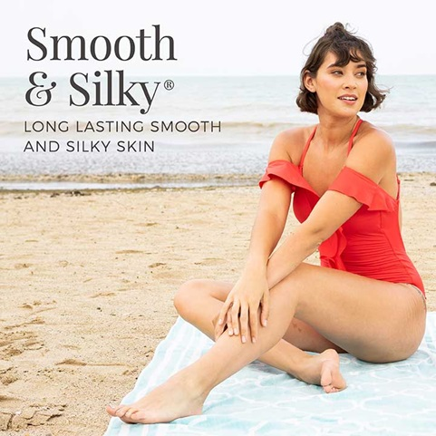 Smooth and silky long lasting smooth and silky skin